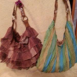 Fringe or stripe shoulder Bag  sold separate.